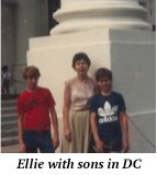 ellie with sons