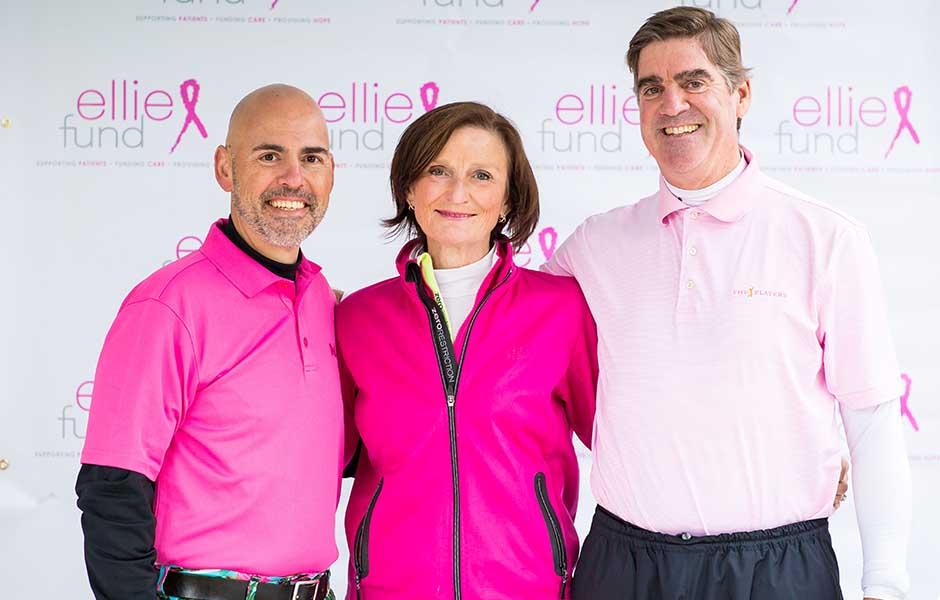 real golfers wear pink Boston